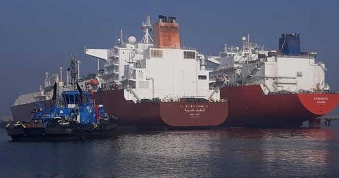 دو ایل این جی جہاز کراچی پورٹ پر لنگر انداز، گیس بحران کا خدشہ ٹل گیا