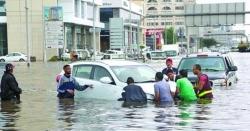 سعودی عرب میں موسلا دھار بارشوں اور سیلاب سے نظام زندگی درہم برہم