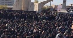 ایران میں بس حادثے میں 10 طلبا کی ہلاکت کے بعد ہنگامے پھوٹ پڑے