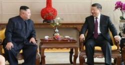 شمالی کوریا کے سربراہ کی چینی صدرسے ملاقات