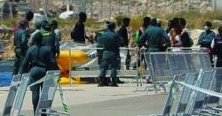 فرانس اور اسپین کی سرحد، مہاجرین کی نقل و حرکت میں اضافہ