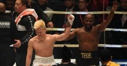 مے ویدر نے جاپانی باکسر کو صرف 2منٹ میں ناک آؤٹ کردیا