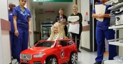 ارجنٹائن کے ہسپتال میں ننھے مریضوں کیلئے الیکٹرک گاڑیاں