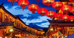 نئے چینی سال کی آمد، سنگاپور دیوہیکل لالٹینوں سے سج گیا