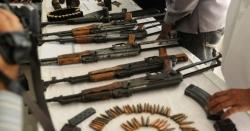 سبی میں سیکیورٹی فورسز کے آپریشن کے دوران اسلحہ و دھماکا خیز مواد برآمد