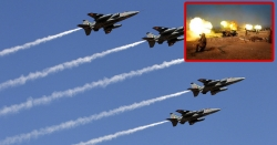 بھارت کی دم پر پائوں پڑ گیا ، ہندوستانی لڑاکا طیاروں نے فضائوں میں اڑان بھر لی