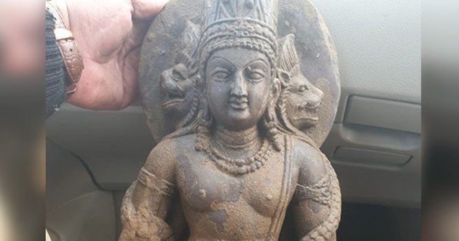 پشاور میں 800 سال پرانا قیمتی مجسمہ بیرون ملک اسمگل کرنے کی کوشش ناکام
