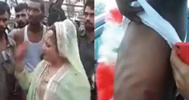 دودھ پلائی میں کم رقم کیوں دی؟ شادی کی تقریب میں دلہن کے گھر والوں نے مار ماردلہاکی حالت بگاڑ دی