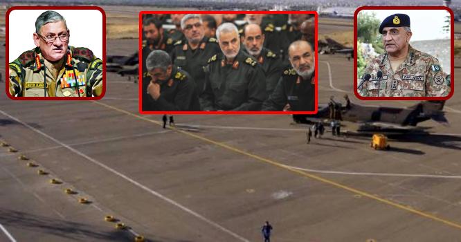 دھمکیاںدینے کے بعد ایران نے پاکستانی سرحدپر خطرناک جنگی طیارے تعینات کر دیے