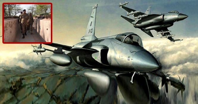 بھارت کا پاکستان پر فضائی حملہ ، پاکستانی شاہین حرکت میں آگئے