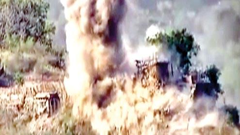 پاک فوج نےلائن آف کنٹرول پربھارتی چوکیوں کوتباہ کردیا،بھارت میں صف ماتم بچھ گئی