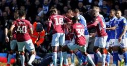 فٹبال میچ کے دوران تماشائی کا ٹیم کے کپتان پر حملہ