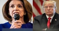 امریکی ایوان نمائندگان کی سپیکر نے صدر ٹرمپ کے مواخذے کی مخالفت کر دی