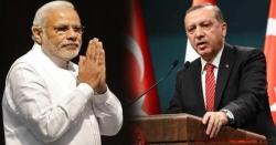 پاکستان کے سب سے بڑے دوست ملک ترکی کے صدر نے بھارت فون گھما دیا