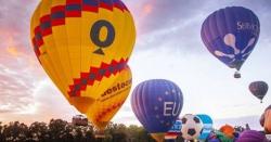 آسٹریلیا میں33ویں سالانہ ہاٹ ایئر بلون فیسٹیول کا آغاز