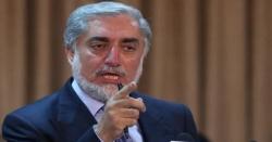 طالبان شدت پسندوں سے روابط ختم کردیں تو امن ممکن ہے، عبداللہ عبداللہ