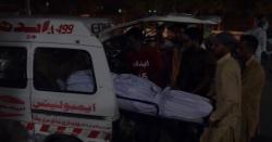 لرزہ خیز حادثے میںمتعدد افراد جاںبحق ، 25افراد زخمی ۔۔ اضافے کا خدشہ