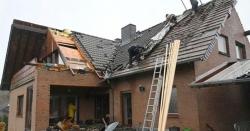 جرمنی میں خطرناک طوفانی بگولے سے 5 افراد زخمی