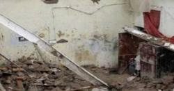 اچانک چھت گرنے سے معصوم بچوں کی قیمتی جانوں پر اظہار افسوس