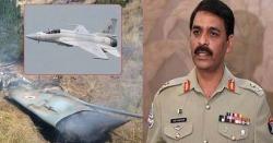 'جے ایف 17 تھنڈر نے انڈین طیارے کو گرایا، ایکشن کی فوٹیج موجود ہے