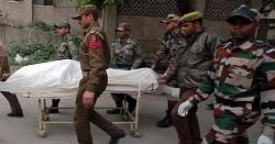 مقبوضہ کشمیر میں بھارتی فوج کے کیمپ میں دھماکا، ایک اہلکار ہلاک