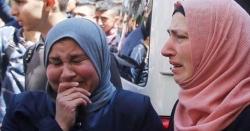 مقبوضہ مغربی کنارے کے قریب اسرائیلی فورسزکی فائرنگ سے فلسطینی شہید