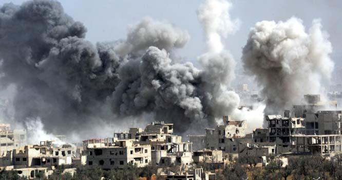 قیامت خیز فضائی حملہ، 13عام شہری جاں بحق