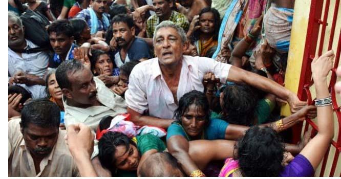 بھارت پر قیامت ٹوٹ پڑی  کئی ہلاکتیں ، تعداد بڑھنے کا خدشہ