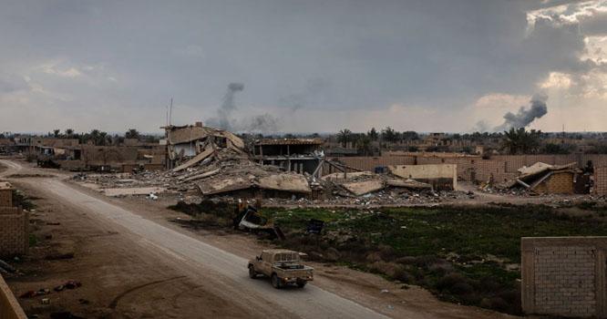 شامی فورسز نے داعش کی خود ساختہ خلافت کا خاتمہ کر دیا
