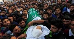 مقبوضہ وادی میں بھارتی ریاستی دہشت گردی، مزید 4 کشمیری نوجوان شہید