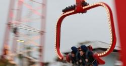 360 فٹ کی اونچائی پر دنیا کا خطرناک جھولا نصب