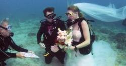 آسٹریلیا، سمندر میں شادی کی تقریب