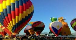 فلپا ئن میں انٹرنیشنل ہاٹ ائر بلون فیسٹیول