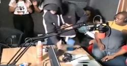 براہ راست نشریات کے دوران ڈکیتی کی ویڈیو وائرل