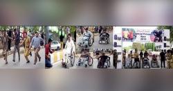(سپیشل پرسنزکی ویل چیئردوڑ)وزیراعلیٰ نے گلگت بلتستان کو امن کاگہوارہ بنایا،جعفراللہ خان