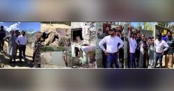 نائیکوئی میں لیڈسلائیڈنگ،4مکان تباہ(3خواتین سمیت 5افرادزخمی،ہنگامی اقدامات شروع)