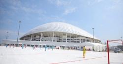 پلاسٹک سے تیا ر کردہ فٹ بال گراؤنڈ کی پچ کا افتتاح