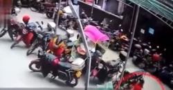 چین میں بلند عمارت سے گرنے والی بچی محفوظ رہی