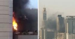 بنکاک کے تجارتی مرکز میں آتشزدگی،2 ہلاک