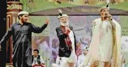 قراقرم آرٹس اینڈویلفیئرکونسل کے زیراہتمام جشن بہاراں کلچرل شو،شائقین کابھی رقص