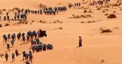 ریگستا ن میں دنیا کی مشکل ترین میراتھن ریس