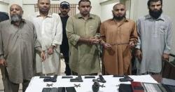کراچی میں داعش کے 5 مبینہ دہشت گرد گرفتار، اسلحہ اور دیگر سامان برآمد