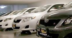 گاڑیوں کی خریداری پر پریمیئم وصول کرنے والے ڈیلروں کو بلیک لسٹ کرنے کا فیصلہ