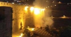 مسجد اقصیٰ میں آتشزدگی، عمارت معجزانہ طور پر محفوظ