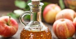 چوتھائی کپ سیب کے سرکے میں چوتھائی کپ گرم پانی ملا کر استعمال کرنے سے کیا فائدہ ملتا ہے ؟