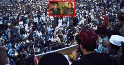 پی ٹی ایم کے دھرنے میں عمران خان سٹیج پر تھے تو ریاستی ادارے کے خلاف نعرے لگ گئے
