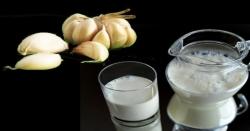 لہسن والے دودھ کے ذریعے قبض اور پیٹ کی گیس کا انتہائی آسان علاج