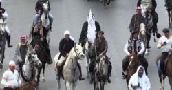 دمشق میں گھوڑوں کے میلے کا انعقاد