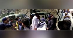 سیکرٹری واٹراینڈپاورعبدالوحیدشاہ کی گاڑی کوحادثہ،ڈرائیورسمیت زخمی ہوگئے(ہسپتال منتقل)