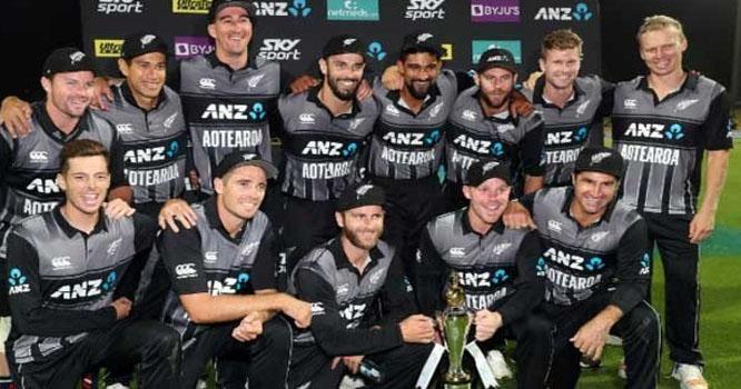 نیوزی لینڈ نے ورلڈ کپ کے لئے 15 رکنی ٹیم کا اعلان کردیا